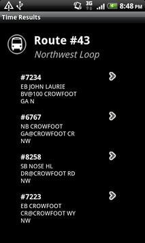 TransitHub Calgary Offline screenshot 1