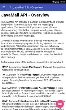 JavaMail API poster