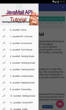 JavaMail API apk screenshot