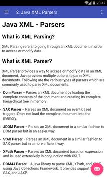 Learn Java XML poster