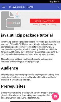 Learn Java Zip poster