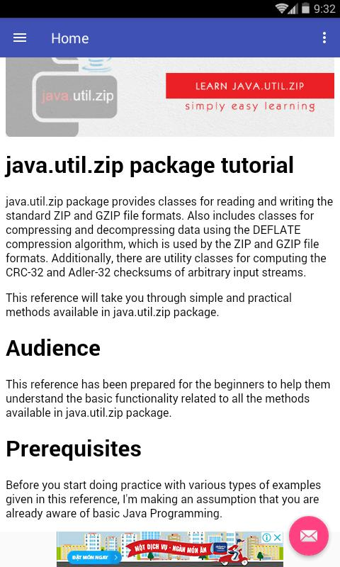 Learn Java Zip cho Android - Tải về APK