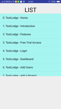 test lodge apk screenshot