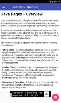 Java Regex poster