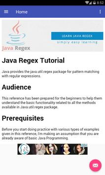 Java Regex apk screenshot