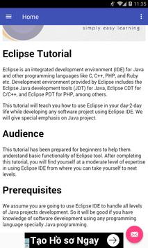Learn Eclipse poster