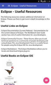 Learn Eclipse apk screenshot
