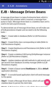 Learn EJB apk screenshot