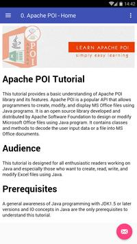 Learn Apache POI screenshot 3