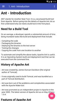 Learn Apache Ant poster
