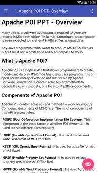Learn Apache POI (Powerpoint) poster