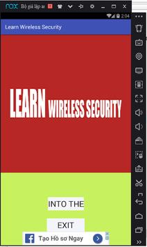 Learn Wireless Security poster