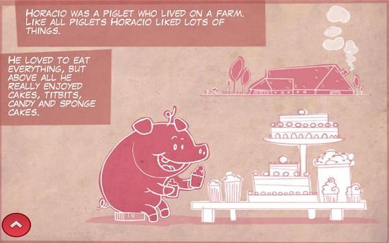 Horacio the Piglet - Lite apk screenshot