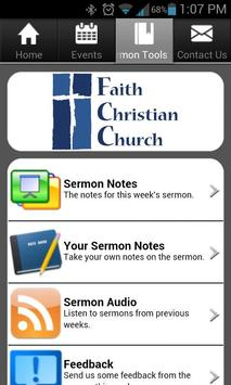 Faith Christian Church apk screenshot