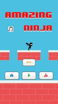 Amazing Ninja Jump poster