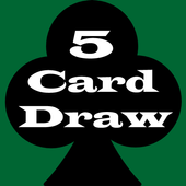 5 Card Draw Poker Solitaire icon