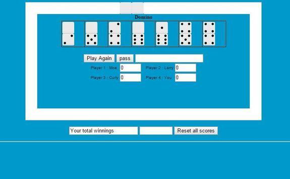 Dominoes Solitaire screenshot 4