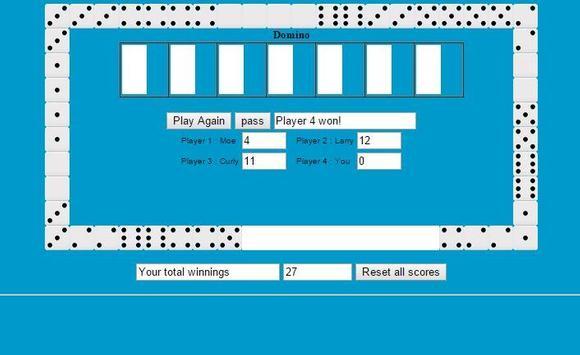Dominoes Solitaire screenshot 1