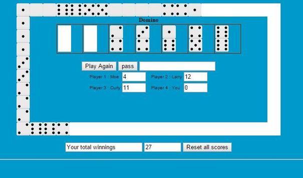 Dominoes Solitaire screenshot 2