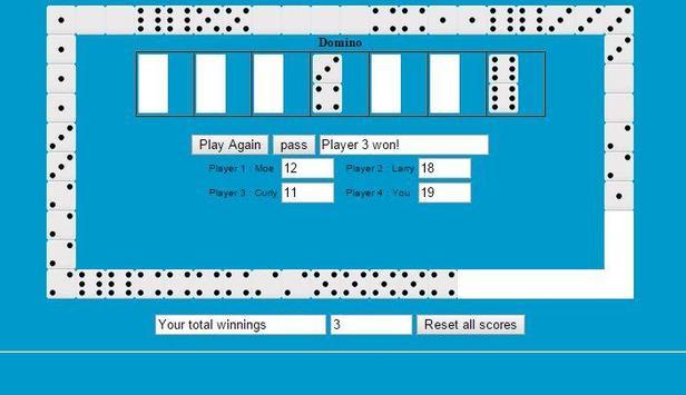 Dominoes Solitaire screenshot 3