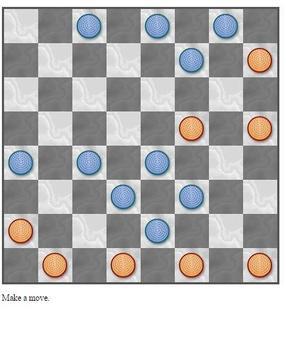 Checkers Solitaire screenshot 2