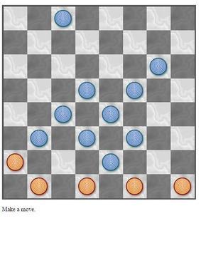Checkers Solitaire screenshot 3