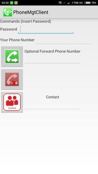 Remote Phone Commands Client apk screenshot