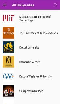All Universities screenshot 1