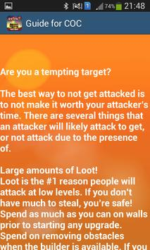 Guide For Clash Of Clans-Tips screenshot 1