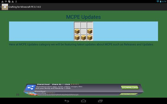 Crafting Guide for Minecraft apk screenshot