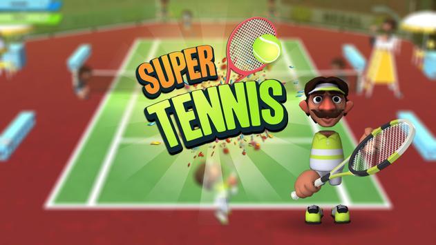 Super Tennis Multiplayer poster