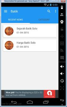 Batik Solo apk screenshot