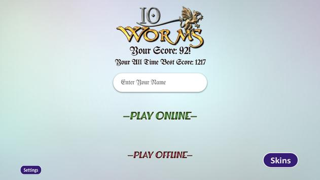 IO Worms apk screenshot