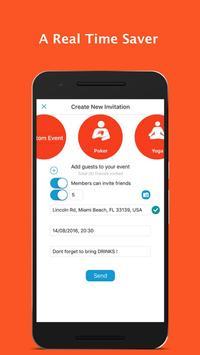 AreYouIn - Event Planner apk screenshot