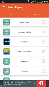 Telugu News Papers screenshot 4