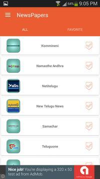Telugu News Papers screenshot 11