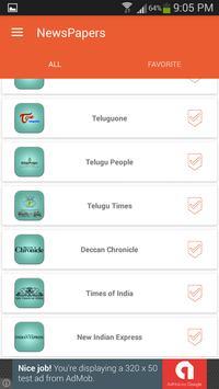 Telugu News Papers screenshot 12