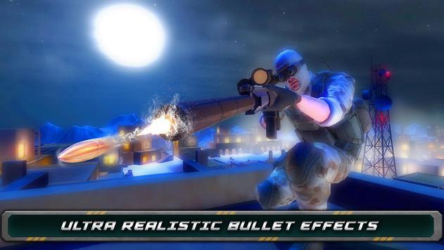 Night Vision Sniper Assassin screenshot 10