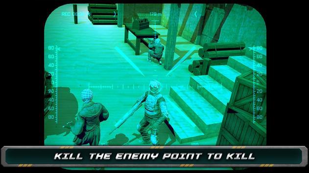 Night Vision Sniper Assassin screenshot 11
