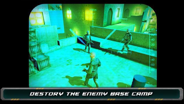 Night Vision Sniper Assassin screenshot 12