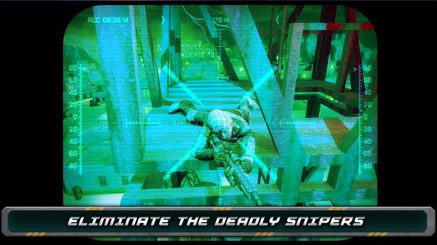 Night Vision Sniper Assassin screenshot 14