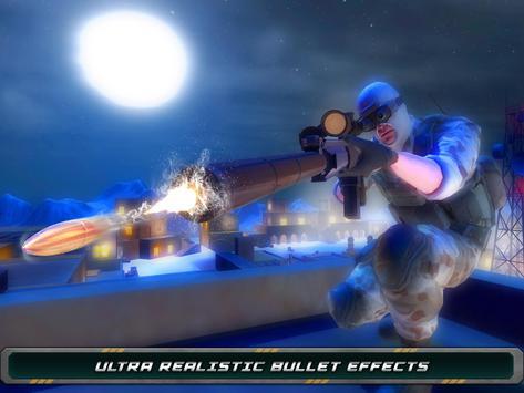 Night Vision Sniper Assassin screenshot 5