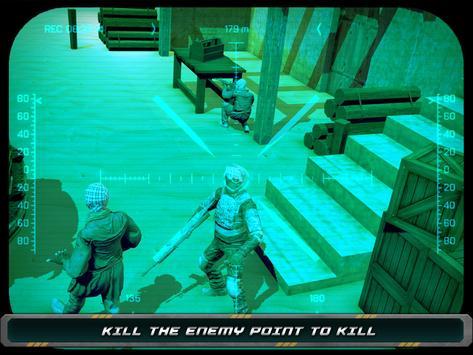 Night Vision Sniper Assassin screenshot 6