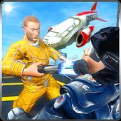 Flying Car Prison Escape icon