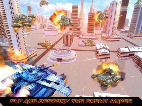 Flying Tank War 2025 apk screenshot