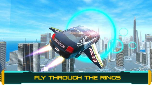 Flying Police Car Chase 2020 poster