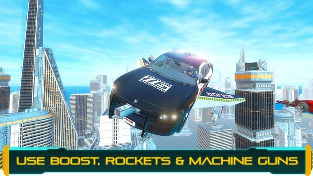 Flying Police Car Chase 2020 apk screenshot