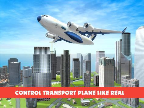 Race Car Transporter Airplane screenshot 9
