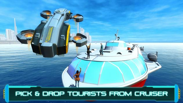 Tourist Futuristic Flying Car apk screenshot