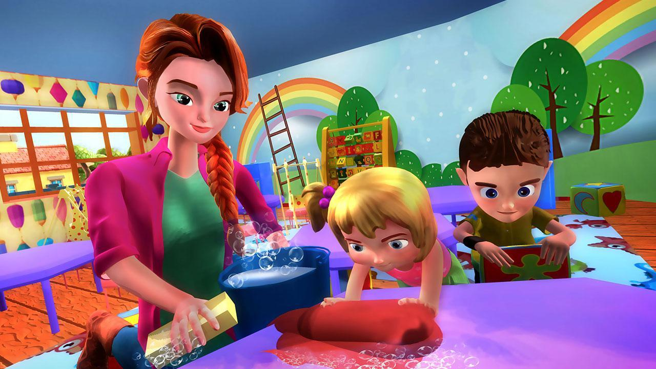 Virtual Mother Sweet Baby Daycare Family Simulator for